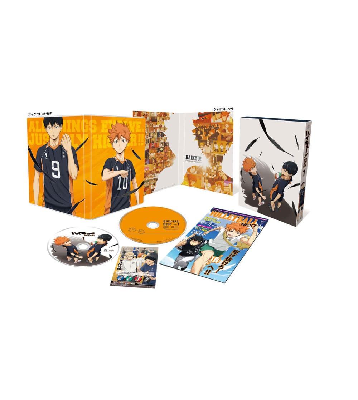 ハイキュー!! セカンドシーズン Vol.1 Blu-ray 初回生産限定版