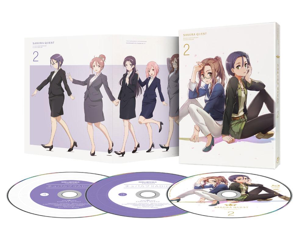 サクラクエスト Vol.2 Blu-ray 初回生産限定版