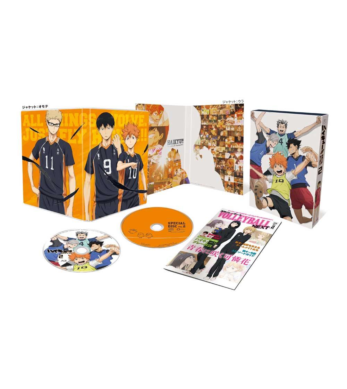 ハイキュー!! セカンドシーズン Vol.2 DVD 初回生産限定版