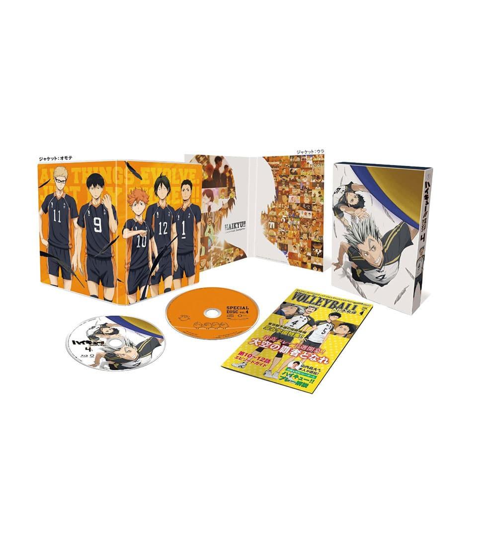 ハイキュー!! セカンドシーズン Vol.4 DVD 初回生産限定版
