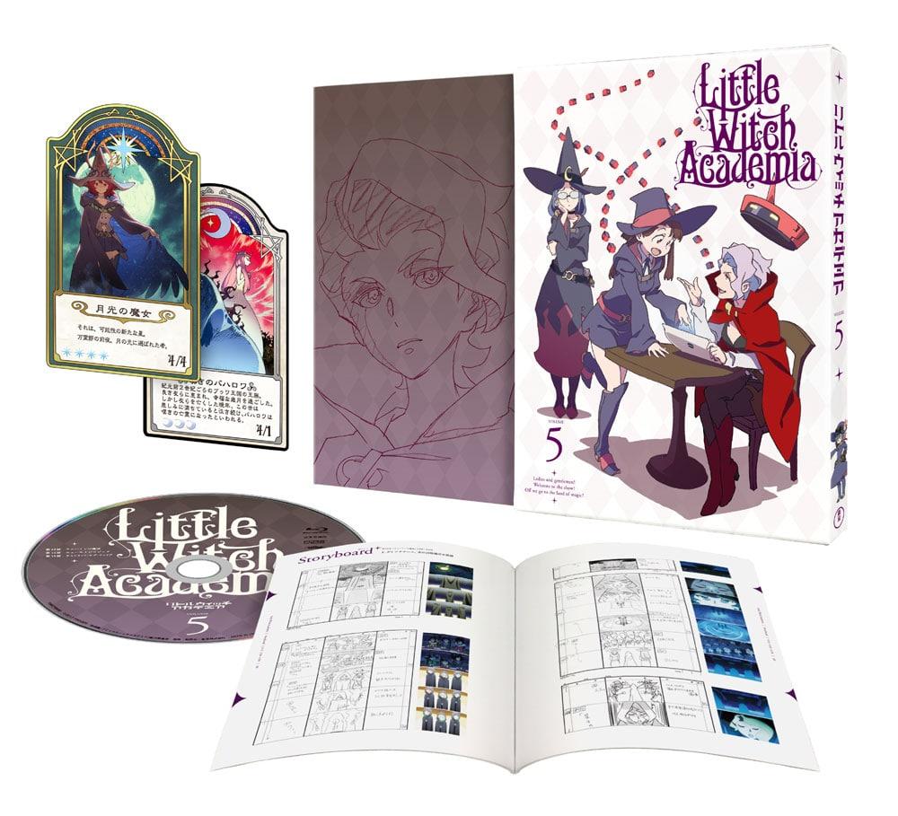 TVアニメ「リトルウィッチアカデミア」Vol.5 DVD 初回生産限定版