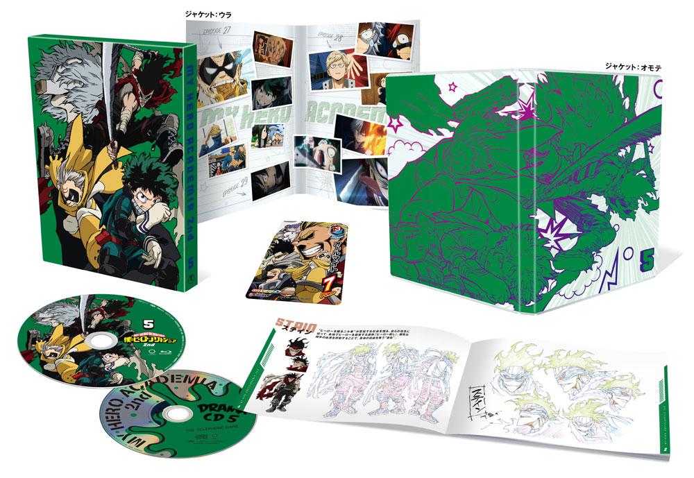 僕のヒーローアカデミア 2nd Vol.5 DVD 初回生産限定版