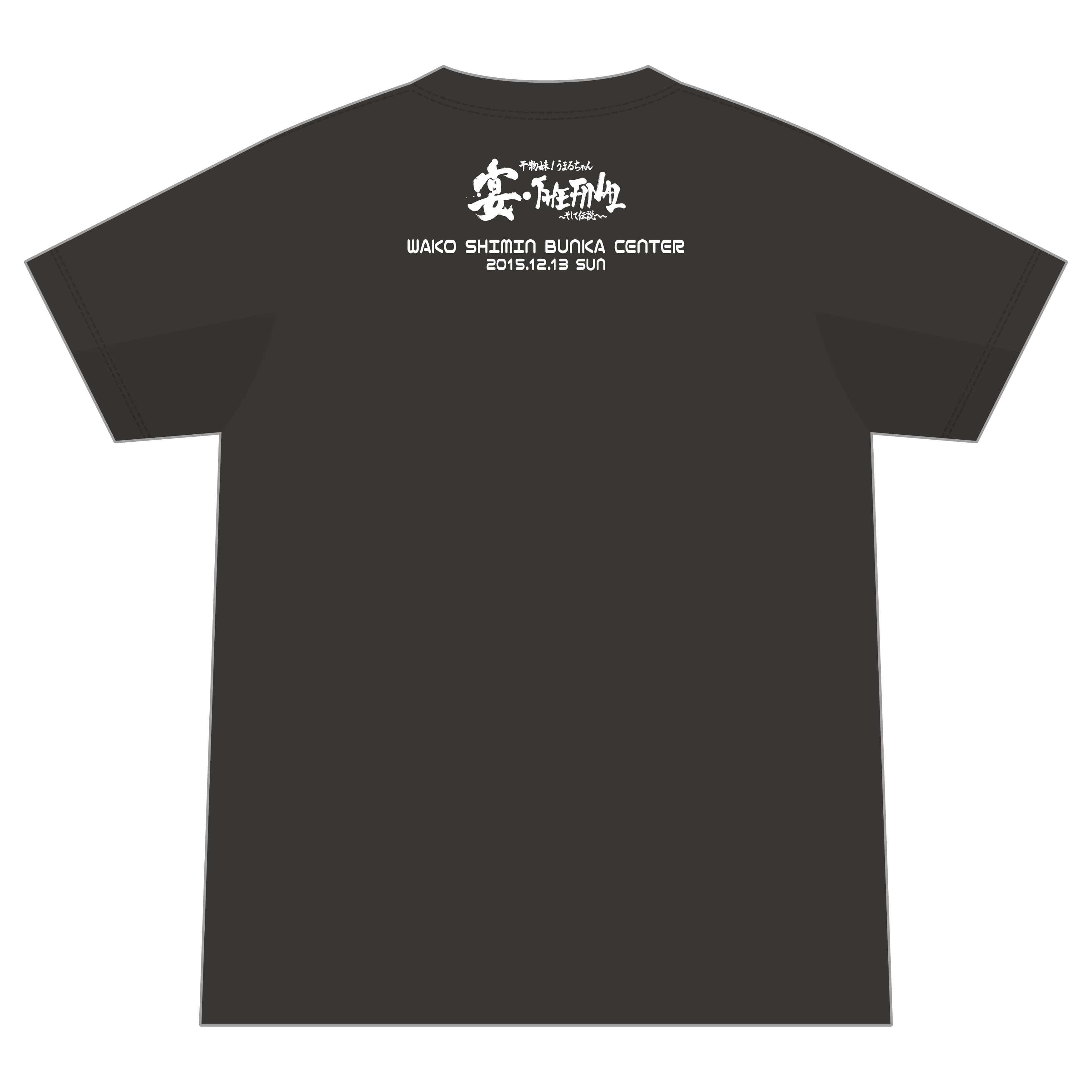 スペシャルイベント「宴・THE FINAL」物販グッズ イベントTシャツ XLサイズ