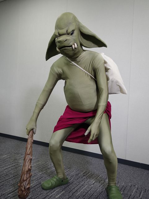 灰と幻想のグリムガル ゴブリンマスク