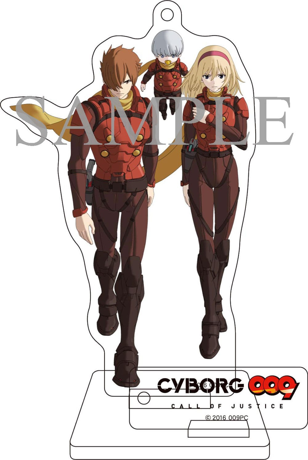 【TOHO animation STORE 限定版】CYBORG009 CALL OF JUSTICE Vol.1 DVD 初回生産限定版+オリジナルアクリルスタンディセット