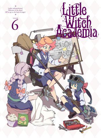 TVアニメ「リトルウィッチアカデミア」Vol.6 Blu-ray 初回生産限定版