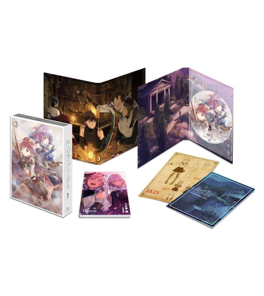灰と幻想のグリムガル Vol.3 Blu-ray 初回生産限定版