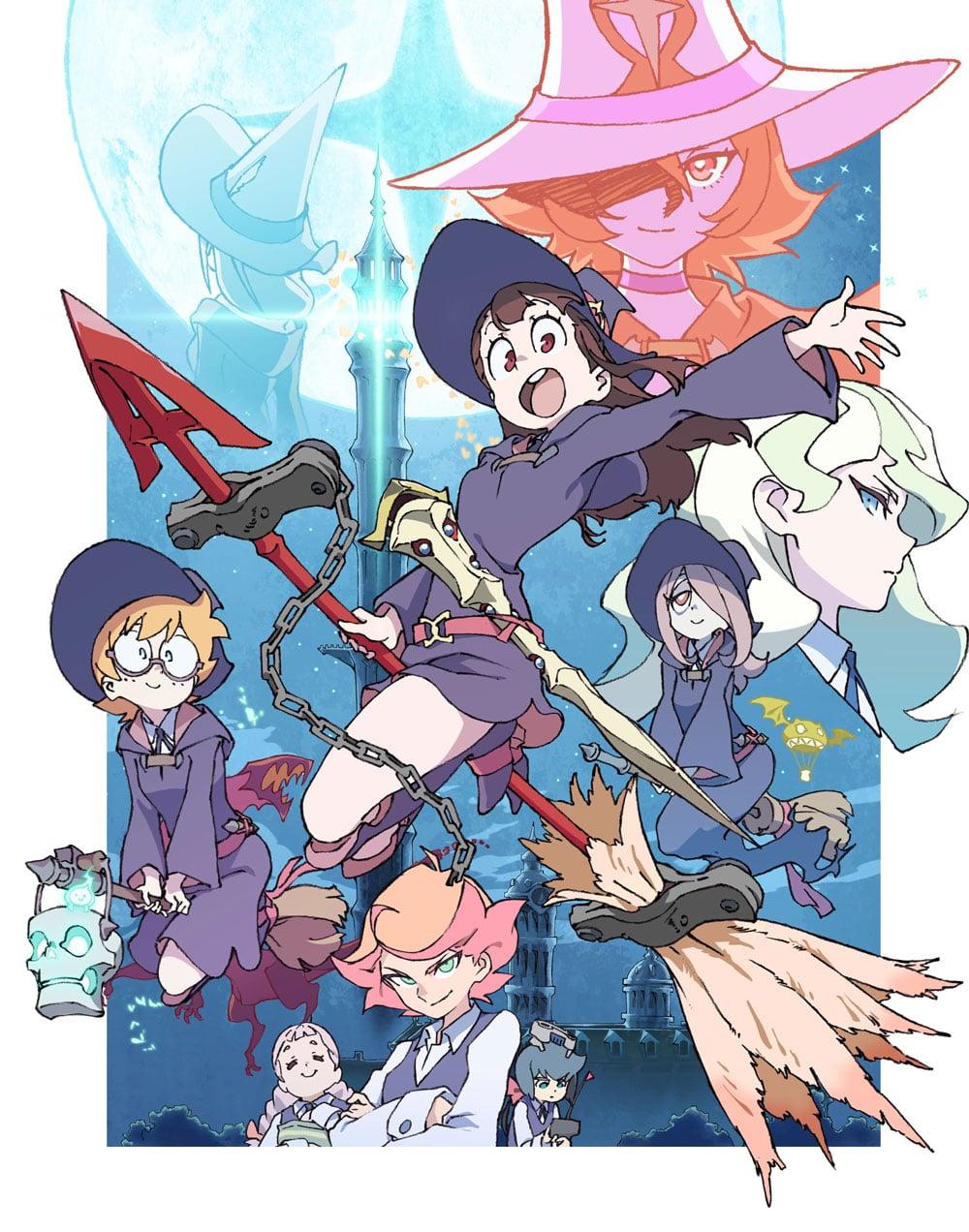 TVアニメ「リトルウィッチアカデミア」Vol.8 DVD 初回生産限定版