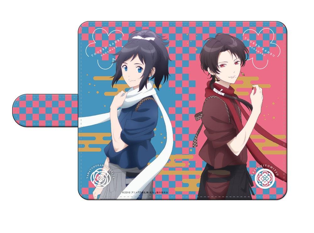 刀剣乱舞-花丸- 手帳型スマートフォンケース