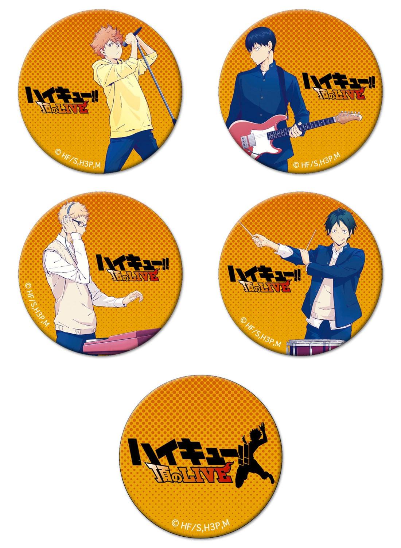 ハイキュー!! 「ハイキュー!! 頂のLIVE 2018」缶バッジセット