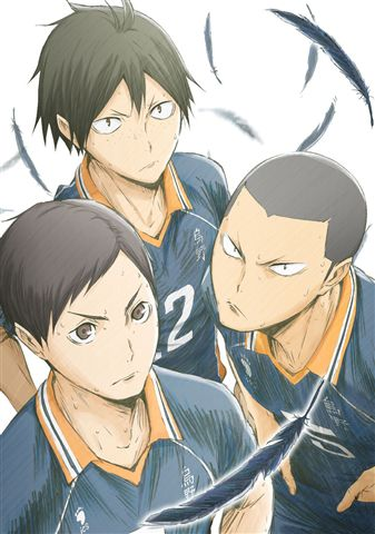 ハイキュー!! 烏野高校 VS 白鳥沢学園高校 Vol.4 Blu-ray 初回限定版