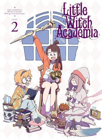 TVアニメ「リトルウィッチアカデミア」Vol.2 Blu-ray 初回生産限定版