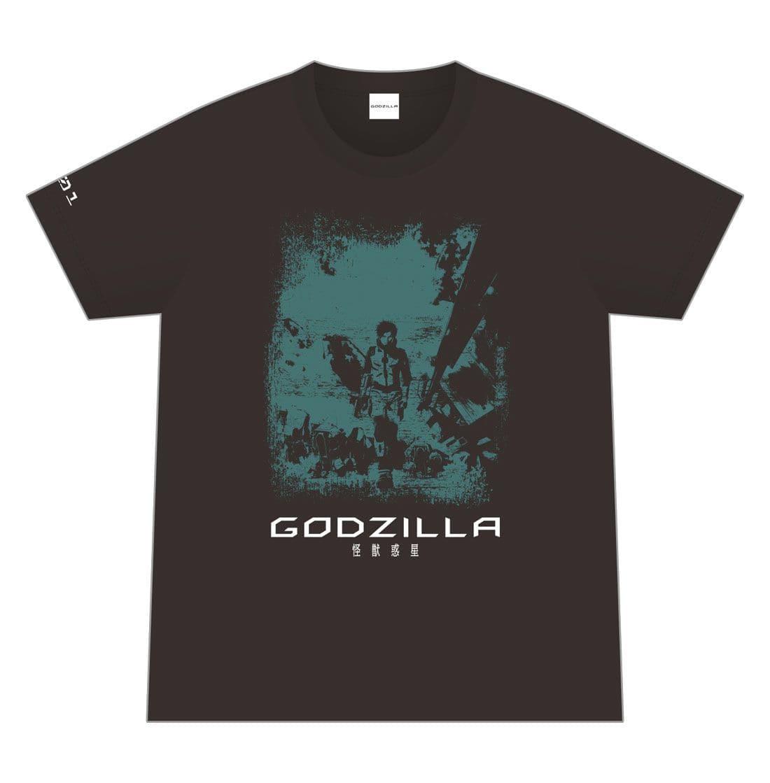 映画「GODZILLA 怪獣惑星」 オリジナルTシャツ/001 <Mサイズ>